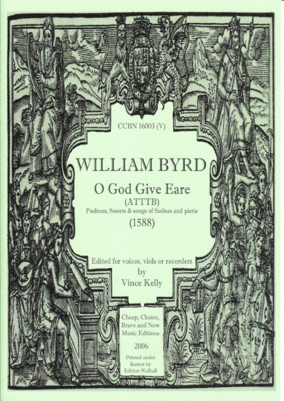 Byrd, William (1543-1623): O God Give Eare (ATTTB)