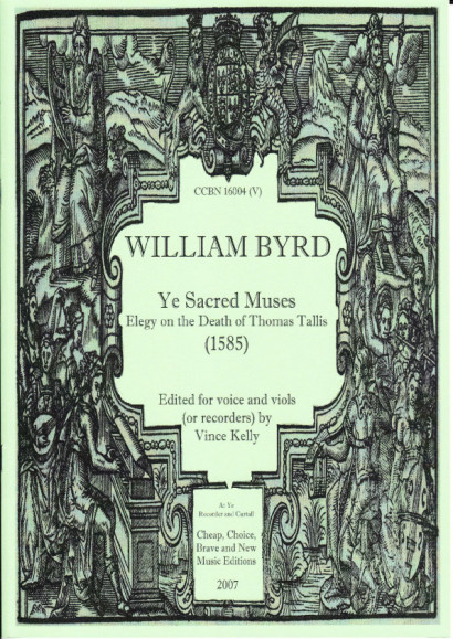 Byrd, William (1543-1623): Ye Sacred Muses (ATTTB)