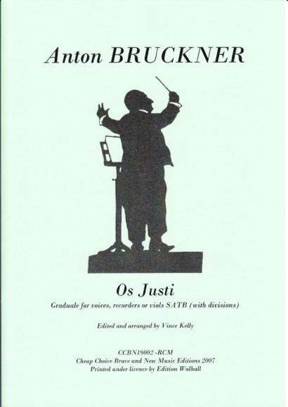 Bruckner, Anton (1824-1896): Os Justi (SATB)