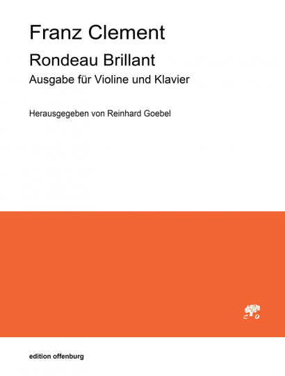 Clement, Franz (1780–1842): Rondeau Brillant op. 36<br>Piano reduction