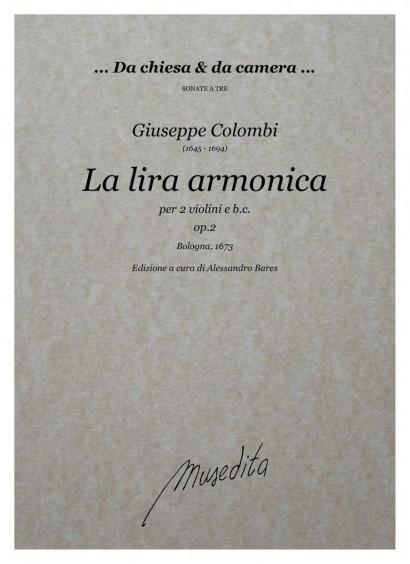 Colombi, Giuseppe (1645–1694): La lira armonica op. 2