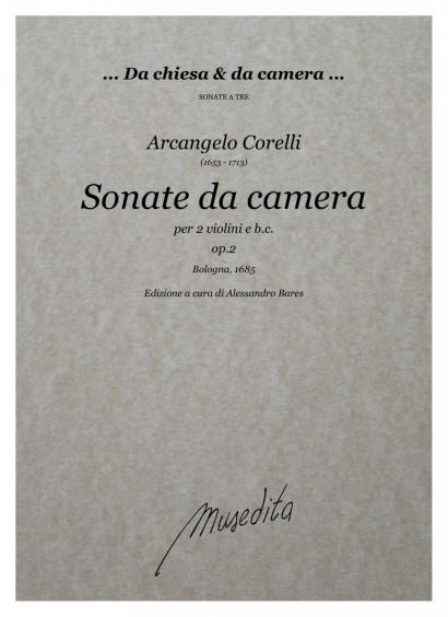 Corelli, Arcangelo (1653–1713): Sonate da camera a tre op. 2