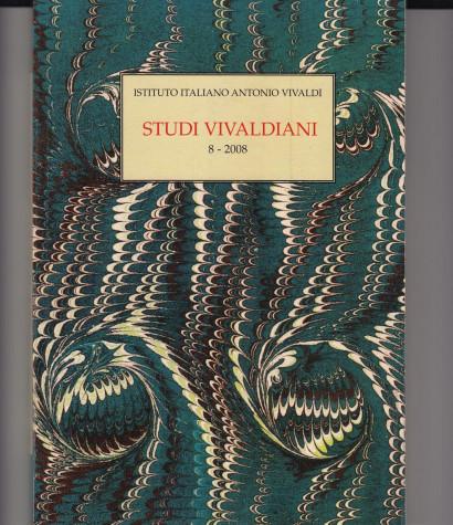 Studi Vivaldiani – 8 / 2008