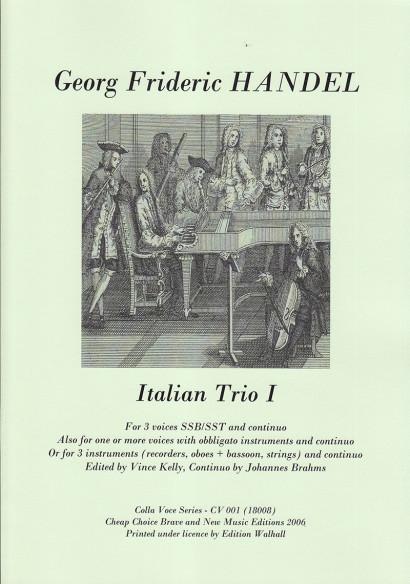 Händel, Georg Friedrich: Italien Trio I