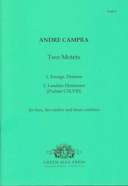 Campra, André (1660-1744): Zwei Motetten
