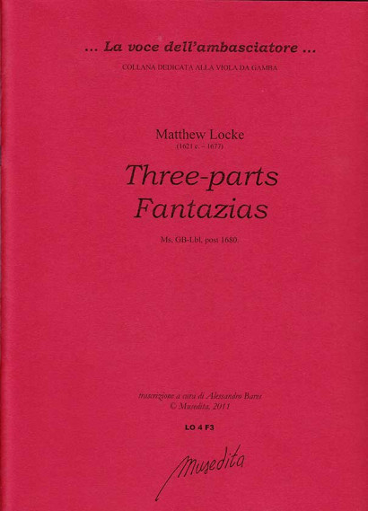 Locke, Matthew (1621/22–1677): Three-parts Fantazias