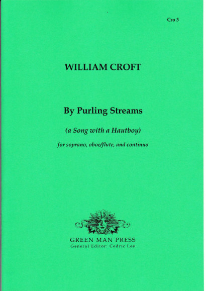 Croft, William (1678-1727): By Purling Streams