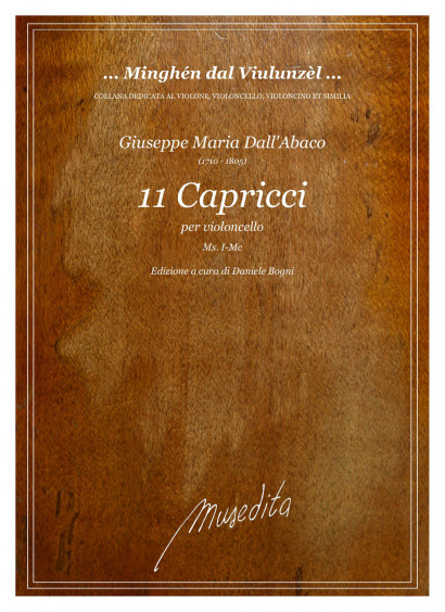 Dall'Abaco, Giuseppe Clemente (1710–1805): 11 Capricci