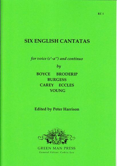Six English Cantatas