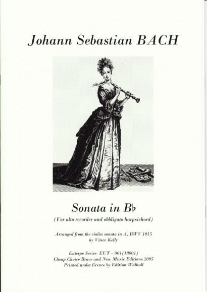 Bach, Johann Sebastian (1685-1750): Sonata IV in B-Dur