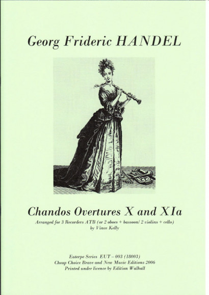 Händel, Georg Friedrich (1685-1759): Chandos Ouverture X & XIa