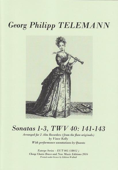 Telemann, Georg Philipp (1681–1767): Sonatas TWV 40:141–149