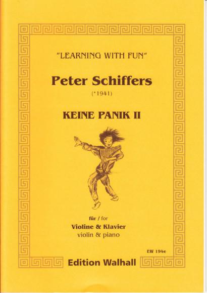 Schiffers, Peter (* 1941): Keine Panik II - Violin & Piano