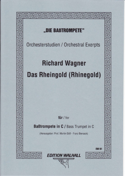 """Wagner, Richard (1813-1883): Der Ring des Nibelungen - """"Das Rheingold"""""""
