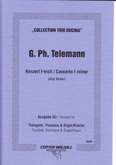 Telemann, Georg Philipp (1681- 1767): Konzert f-Moll