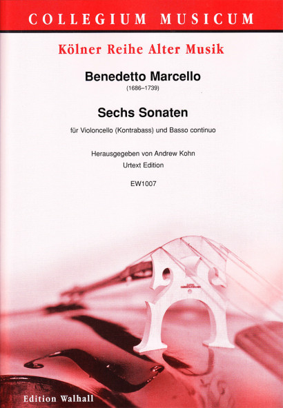 Marcello, Benedetto (1686–1739): Six Sonatas op. 1