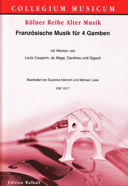 Französische Musik für 4 Gamben