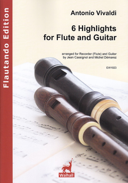 Vivaldi, Antonio (1678–1741): 6 Highlights for Flute & Guitar