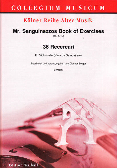Mr. Sanguinazzos Book of Exercises (ca. 1710):<br>36 Recercari