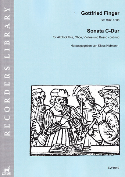 Finger, Gottfried (?1660–1730): Sonata  C-Dur