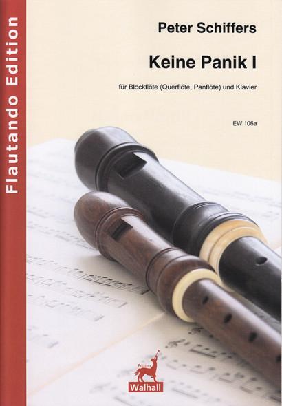 Schiffers, Peter (* 1941): Keine Panik I - Querflöte & Klavier
