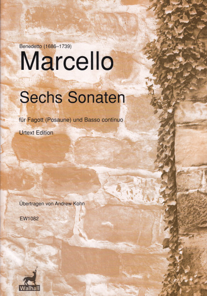 Marcello, Benedetto (1686–1739): Sechs Sonaten op. 1