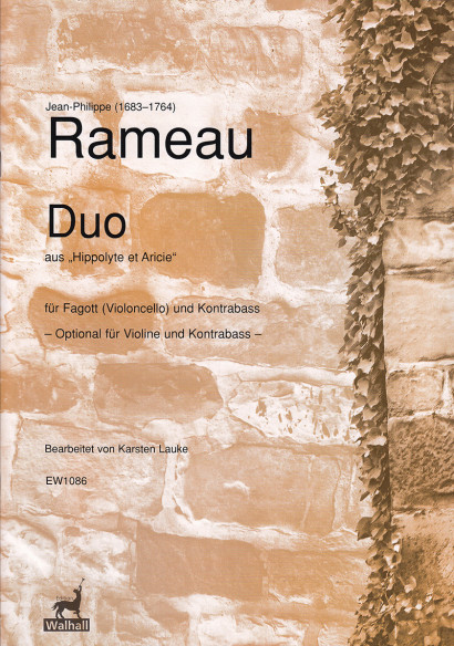 "Rameau, Jean-Philippe (1683– 1764): Duo from ""Hippolyte et Aricie"""