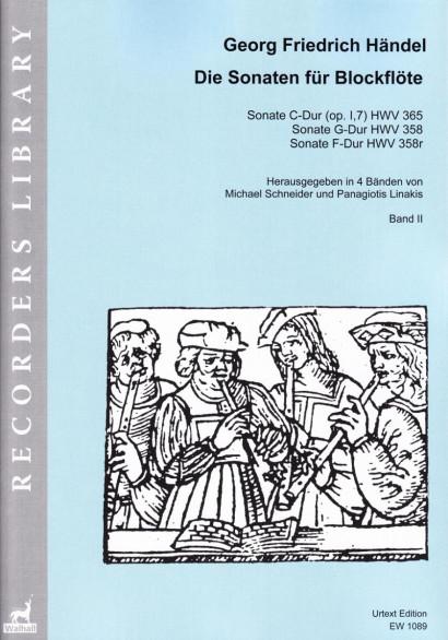 Händel, Georg Friedrich (1685– 1759):<br>The Sonatas for Recorder<br>Volume II