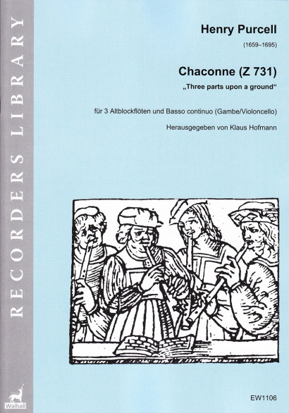 Purcell, Henry (1659–1695):Chaconne F-Dur (Z 731)