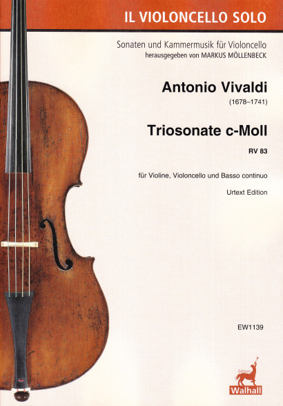 Vivaldi, Antonio (1678–1741):<br>Trio Sonata C Minor RV 83