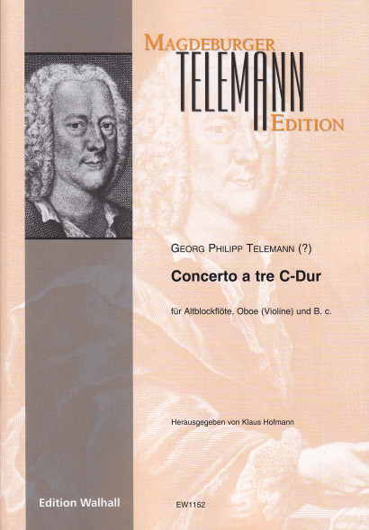 Telemann (?), Georg Philipp (1681–1767): Concerto a tre C major