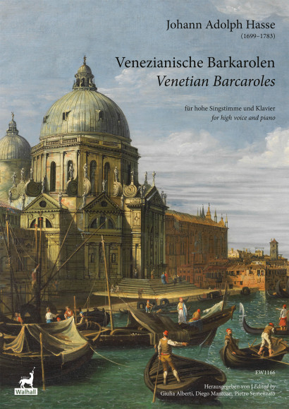 Hasse, Johann A. (1699–1783): 15 Venezianische Barkarolen
