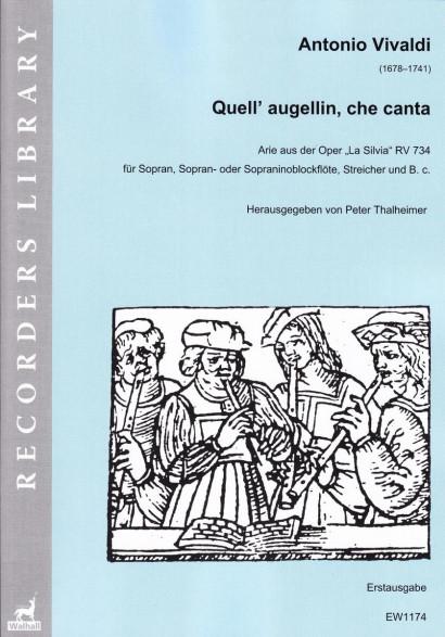 Vivaldi, Antonio (1678–1741): Quell' augellin, che canta
