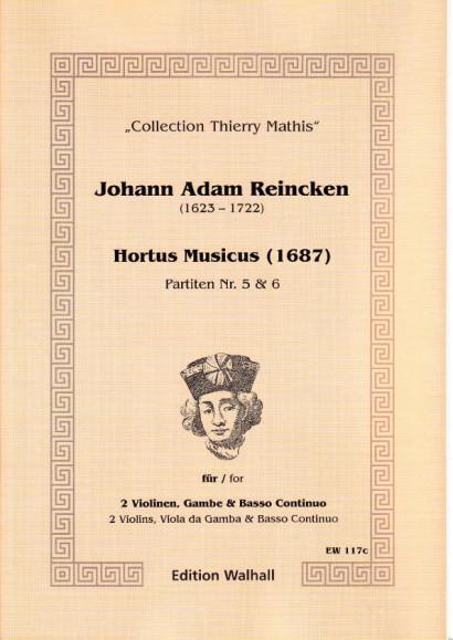 Reincken, Johann Adam (1623-1722): Hortus Musicus - Partiten Nr. 5 und Nr. 6