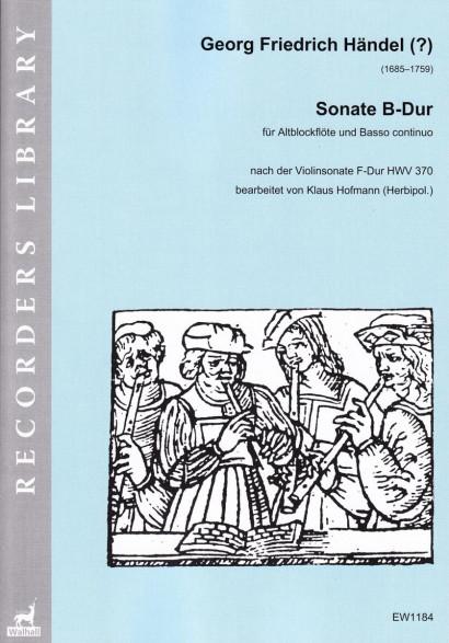 Händel (?), Georg Fr. (1685–1759): Sonate B-Dur