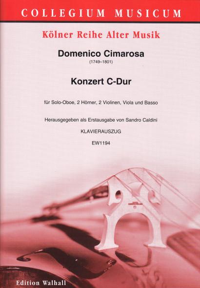 Cimarosa, Domenico (1749–1801): Concerto C Major