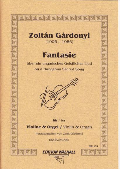 Gárdonyi, Zoltán (1906-1986): Fantasie