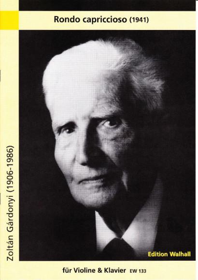 Gárdonyi, Zoltán (1906-1986): Rondo Capriccioso