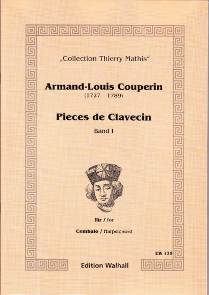 Couperin, Armand-Louis (1727-1789): Pieces de Clavecin