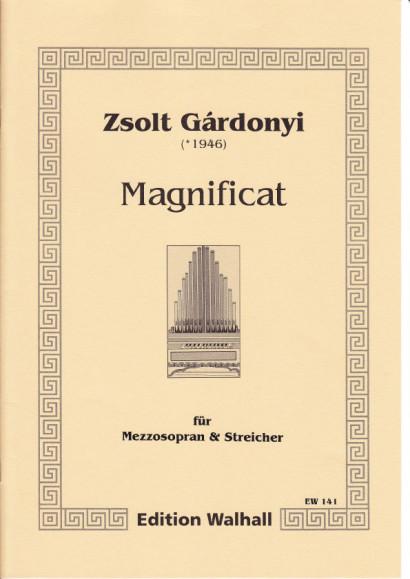Gárdonyi, Zsolt (*1946): Magnificat - score