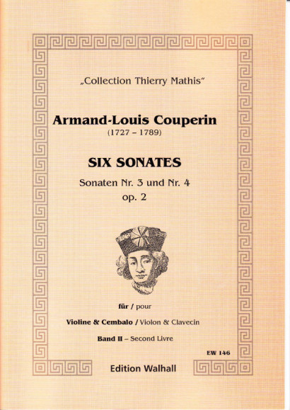 Couperin, Armand-Louis (1727- 1789): Six Sonates - Vol. II