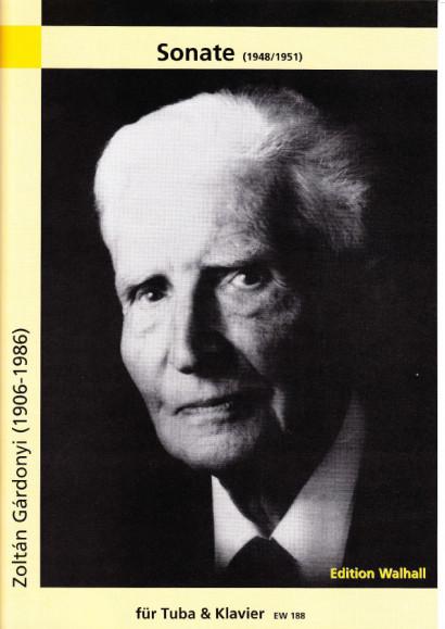 Gárdonyi, Zoltán (1906-1986): Sonate (1948/51)