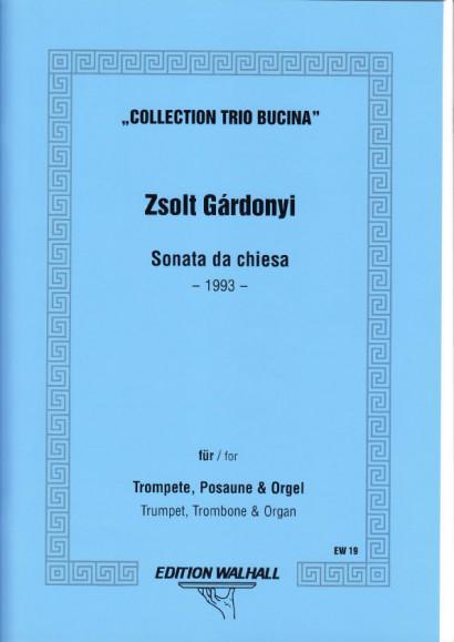 Gárdonyi, Zsolt (1906-1986): Sonata da Chiesa