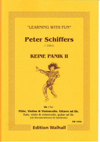 Schiffers, Peter (* 1941): Keine Panik II - Spielkreisfassung