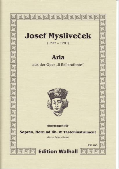 Myslivecek, Josef (1737-1781): Aria