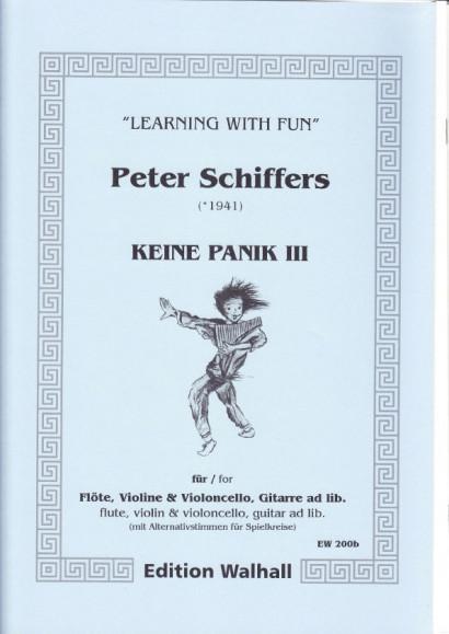 Schiffers, Peter (* 1941): Keine Panik III - Spielkreisfassung