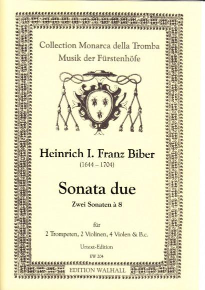 Biber, Heinrich Ignaz Franz (1644–1704): Sonata Due