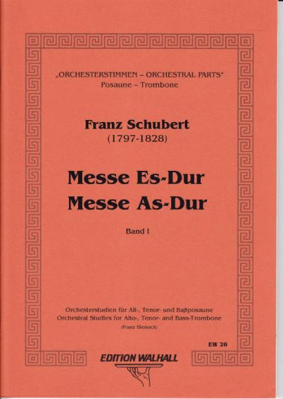 Orchesterstudien für Posaune: Messen - Requien - Band I (88 S.)