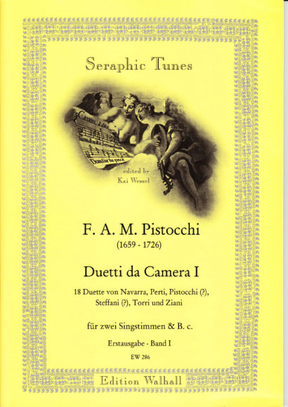 Pistocchi, Francesco A. M. (1659- 1726): Duetti da Camera - Band 1