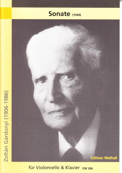Gárdonyi, Zoltán (1906-1986): Sonate (1944)